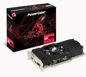 PowerColor Red Dragon Radeon RX 560 4GB GDDR5 Graphics Card...