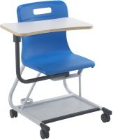 Blue Titan Teach With Arm Tablet Chair