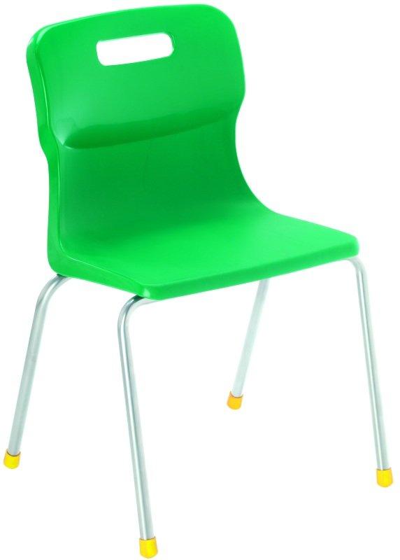 Green Four-Legged Titan Chair