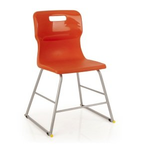 Red Titan High Chair