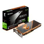 EXDISPLAY Gigabyte Nvidia GeForce GTX 1080 Ti 11GB WATERFORCE WB Xtreme Edition Graphics Card