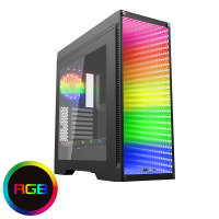 Game Max Abyss ATX Full Tower Temp Glass Front Panel