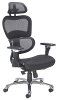 Chachi Mesh Back Operator Chair In Black