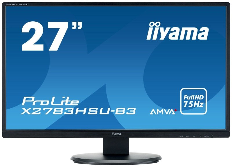 "ProLite X2783HSU-B3 27"" Monitor"