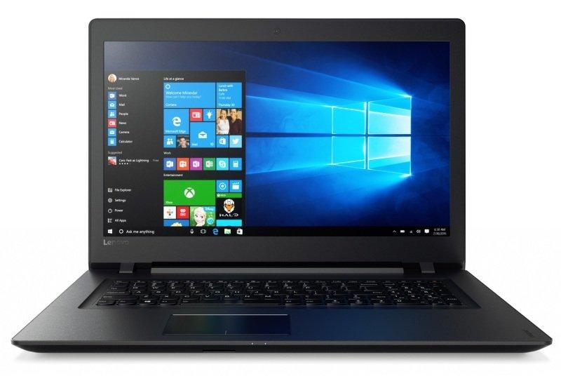 """EXDISPLAY Lenovo V110 Laptop AMD A9-9410 2.9GHz 8GB RAM 1TB HDD 15.6"""" LED DVDRW AMD WIFI Camera Bluetooth Windows 10 Home 64bit"""