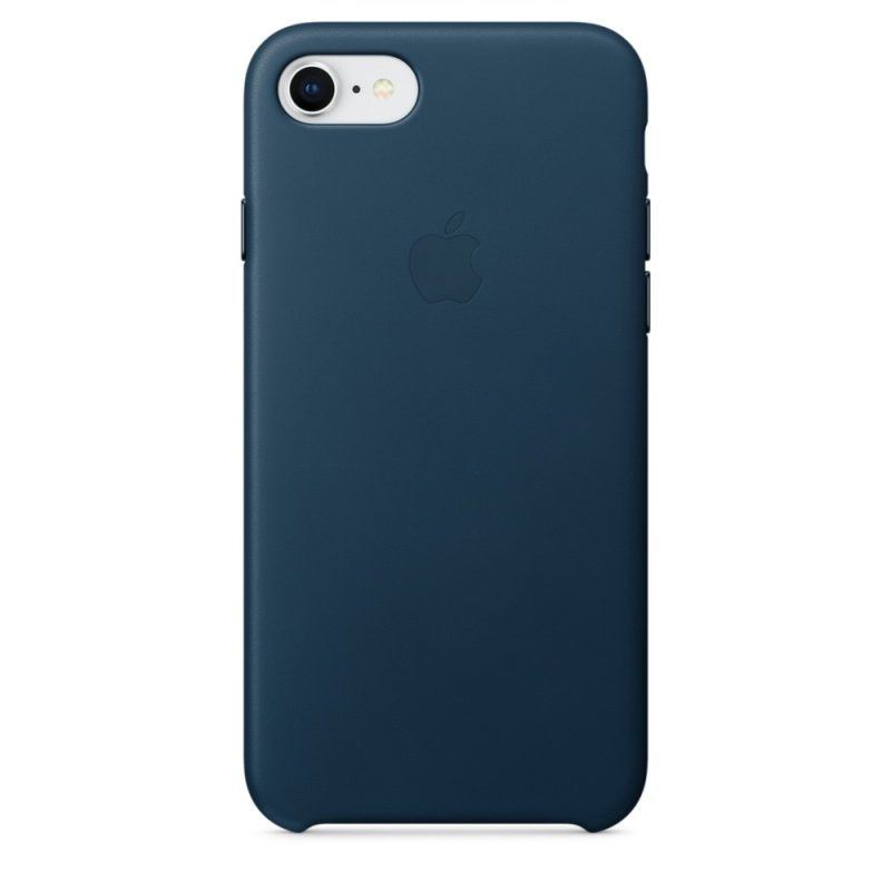 Apple iPhone 8 / 7 Leather Case - Cosmos Blue cheapest retail price