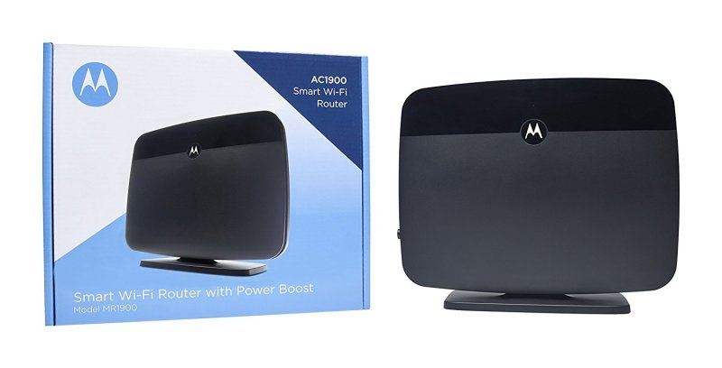 Motorola MR1900 Smart AC1900 Wi-Fi Gigabit Router with Power Boost