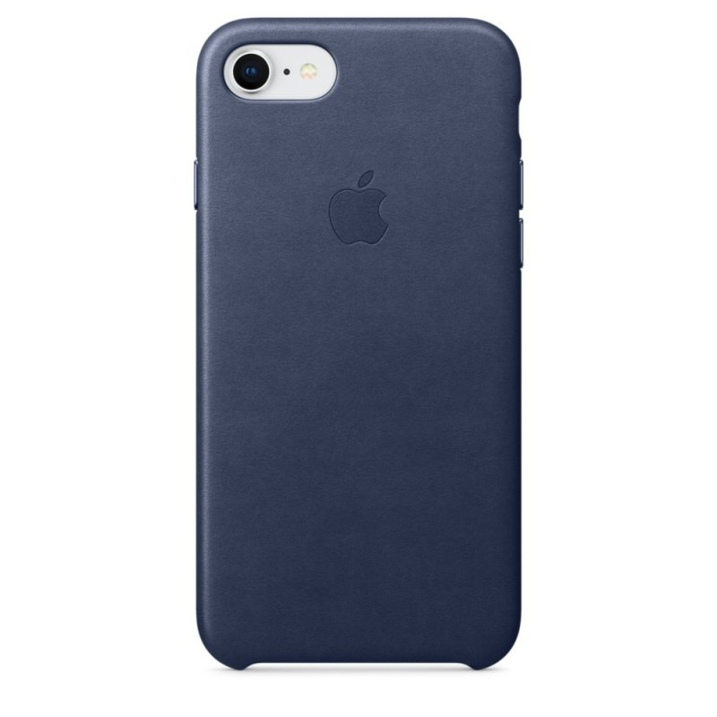 Buy Brand New Apple iPhone 8 / 7 Leather Case - Midnight Blue