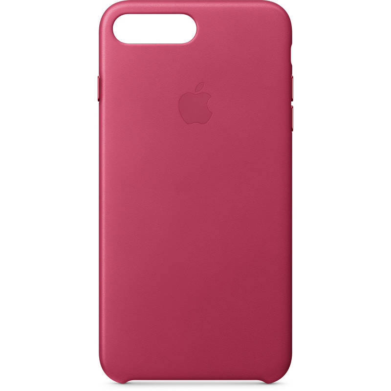 Apple iPhone 7 8 Plus Leather Case - Pink Fuchsia cheapest retail price