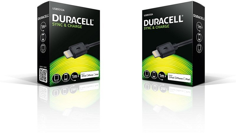 Duracell Apple Lightning Charge - And Sync Cable