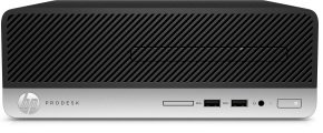 "HP ProDesk 400 G4 SFF Desktop + 24"" Monitor"