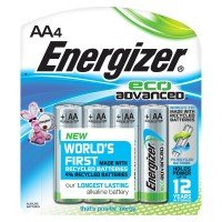 Energizer Ecoadvanced Aa Pk 4 Plus 2