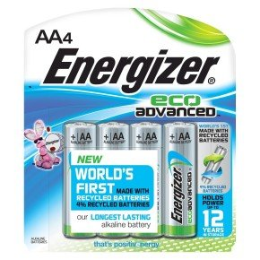 Energizer Ecoadvanced Aa Pk 4 Plus 2