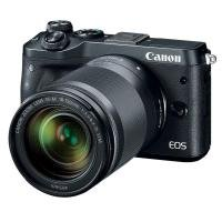 Canon EOS M6 - Digital camera - mirrorless - 24.2 MP - APS-C - 1080p / 60 fps - 8.3x optical zoom EF-S 18-150mm IS STM lens - Wi-Fi, NFC, Bluetooth - Black