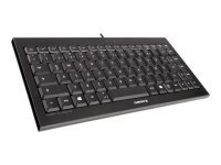 Cherry KC 4020 Compact Illuminated Keyboard - Black