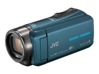 JVC GZ-RX645 8GB Memory FHD Quad Proof 10MP 40x Zoom WiFi Camcorder Blue