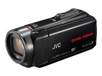 JVC GZ-RX645 8GB Memory FHD Quad Proof 10MP 40x Zoom WiFi Camcorder Black