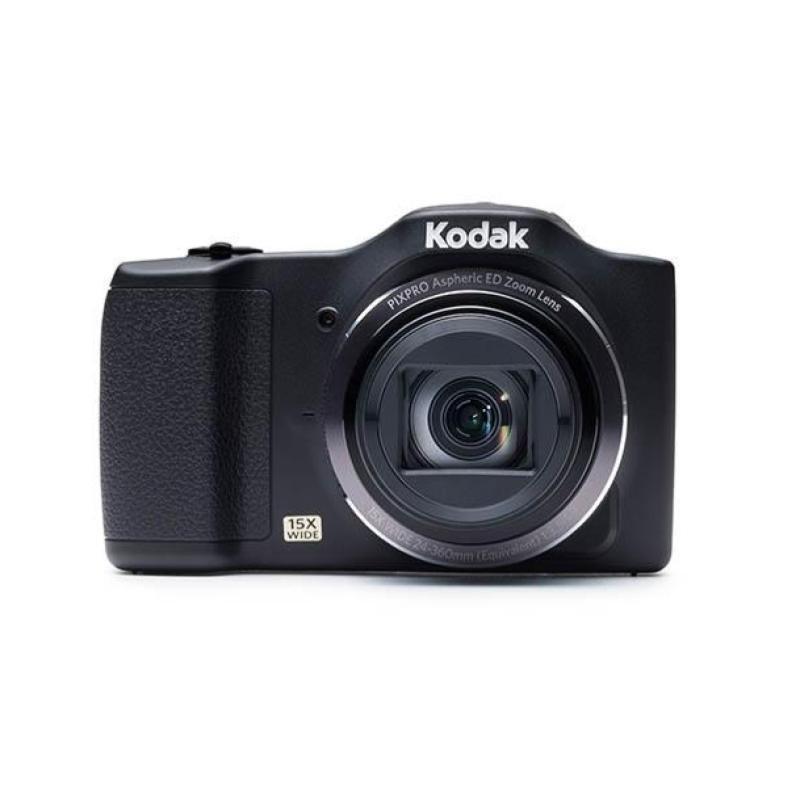 Kodak PIXPRO FZ152 Camera 16MP 15xZoom 3 0LCD 24mm Wide Lens OIS HD Black