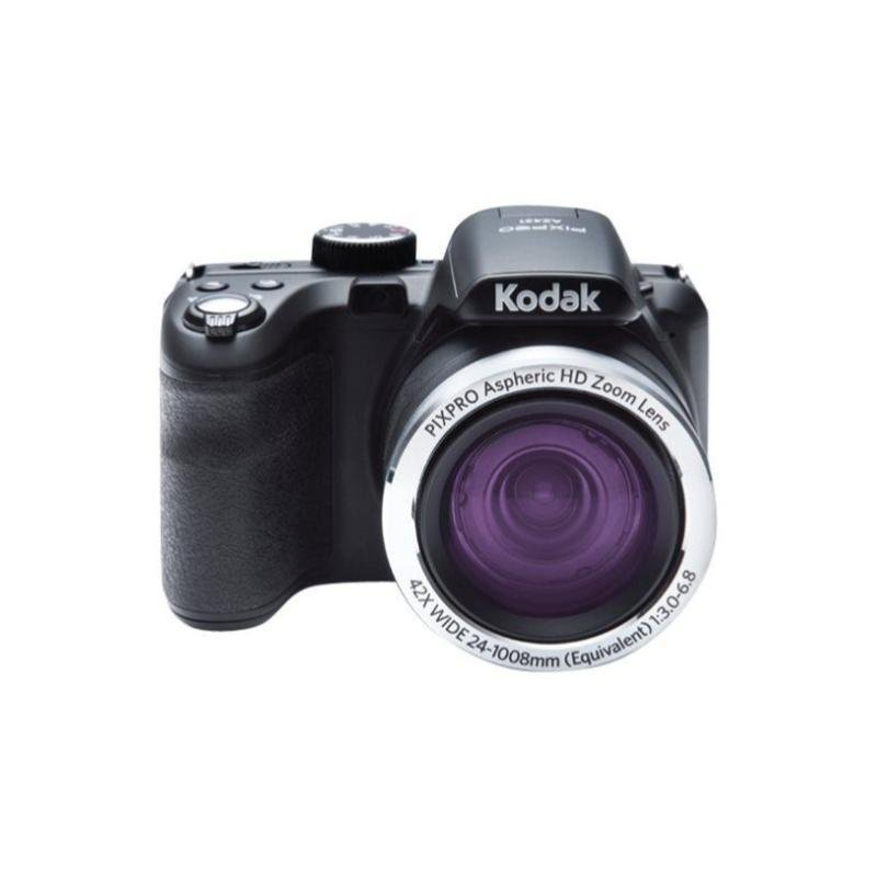 Kodak PIXPRO Astro Zoom AZ422 - Digital camera - compact - 20.0 MP - 720p / 30 fps - 42x optical zoom - Black + 16GB SDHC Card & Case