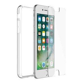 OtterBox Clearly Protected Skin with Alpha Glass screen protector - for Apple iPhone 7/8