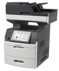 Lexmark MX718de A4 Multifunction Mono Laser Printer