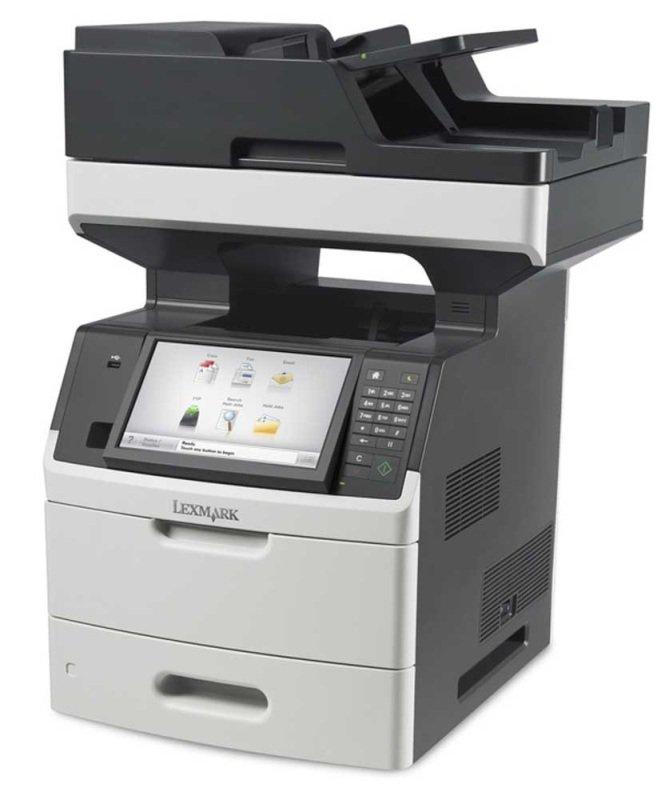 Lexmark MX718de A4 Multifunction Mono Laser Printer