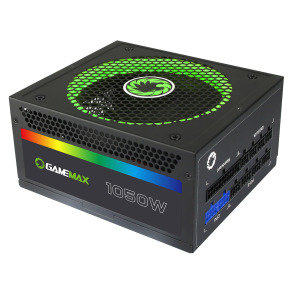 Game Max 1050W Modular RGB Gold 80 Plus 14cm RGB Fan & Illuminated Logo