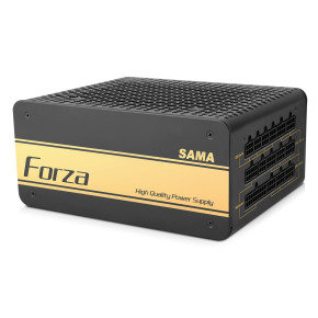 Sama 750W Gold PSU Modular 80 Plus 12cm Black Fan APFC