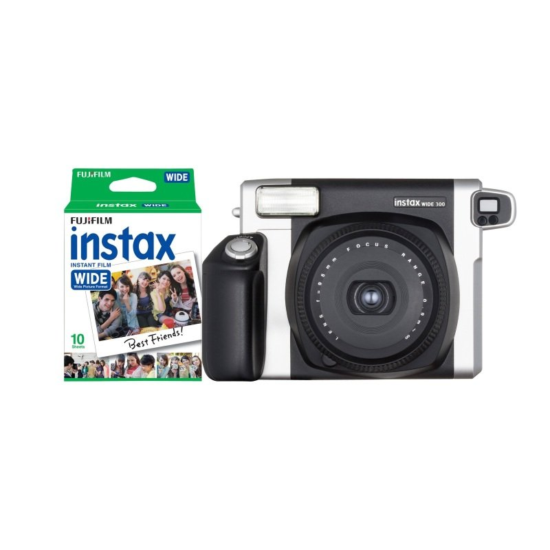 Fuji Instax 300 Wide Picture Format Camera inc 10 Pk Film