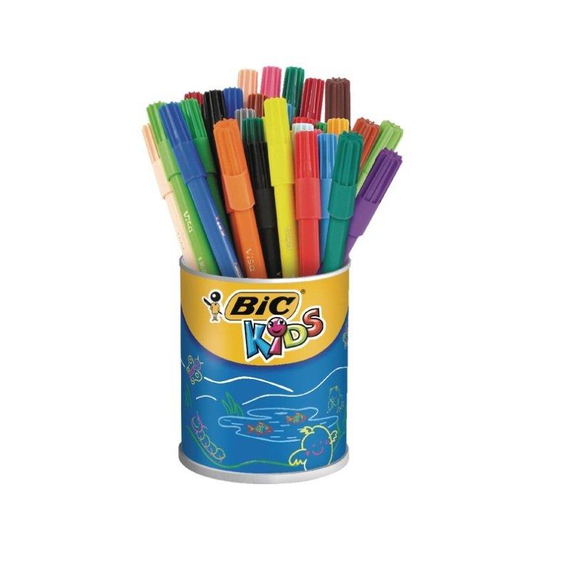 Bic Kids Visa Colouring Felt Tip Pens Pack of 36