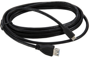 Xenta Type C - USBC to USB 3.0 A-Female Black Cable(3M)