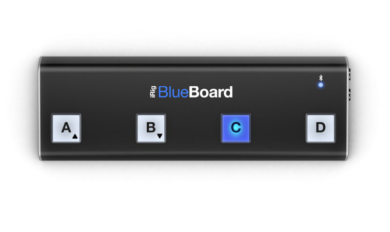 IK Multimedia iRig BlueBoard - Wireless pedalboard - for Apple iPad Air; iPad mini; iPad mini 2; iPad with Retina display; iPod touch (5G)