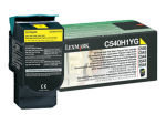 Lexmark C540H High Yield yellow Toner cartridge - 2000 pages