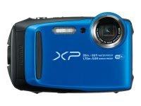 Fujifilm FinePix XP120 - Digital camera - compact - 16.4 MP - 1080p / 60 fps - 5x Optical Zoom - Fujinon - Wi-Fi - Underwater up to 20 m - Blue