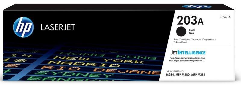 HP 203A Original Black LaserJet Toner Cartridge CF540A