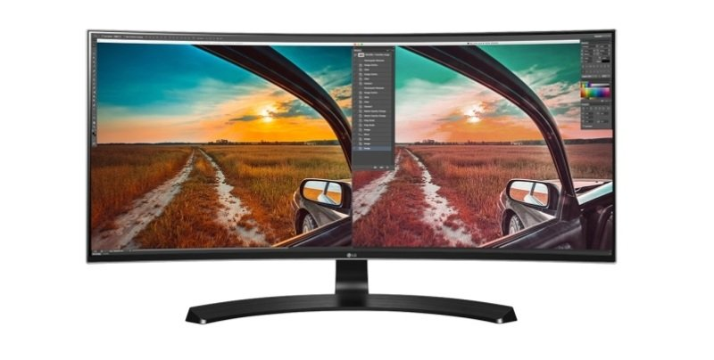 "34"" 21:9 Curved UltraWide WQHD IPS LED Monitor"
