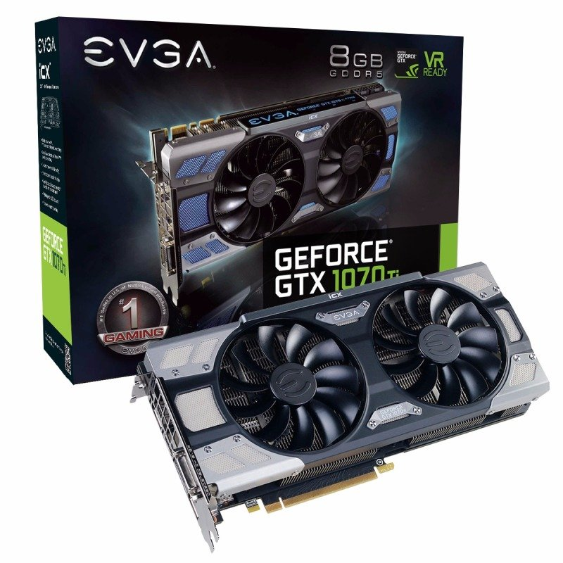 EVGA GeForce GTX 1070 Ti FTW2 GAMING Graphics Card