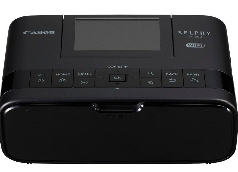 Canon SELPHY CP1300 Photo Printer- Black