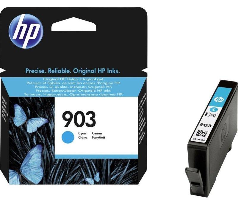HP 903 Cyan Original Ink Cartridge - T6L87AE