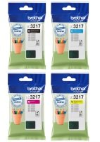 Brother LC3217 CMYK Multipack Ink Cartridges