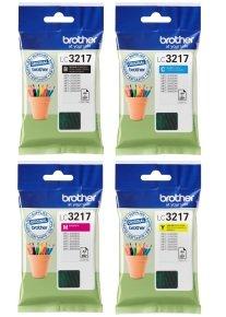 Brother LC3217 Multipack C/M/Y/K Inkjet Cartridges