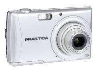 PRAKTICA Luxmedia Z250 Camera Silver 20MP 5xZoom 64MB Internal Memory