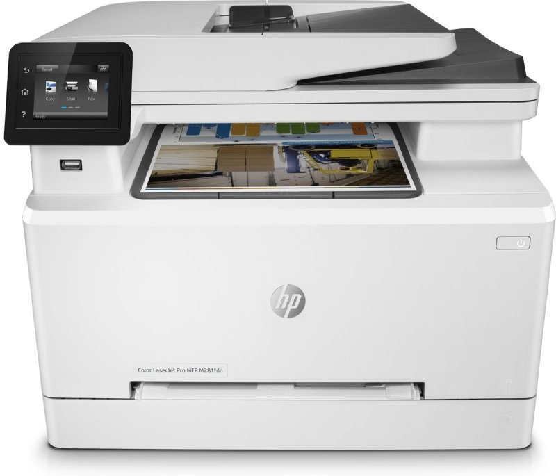 Image of HP M281fdn Colour LaserJet Pro Multifunction Duplex Laser Printer