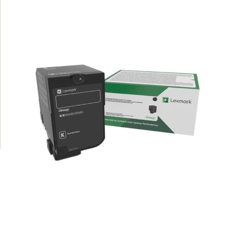 Lexmark CS827 20K Black Toner Cartridge (73B20K0)