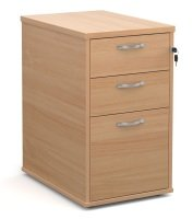 Desk High Pedestal 600mm Deep- Beech
