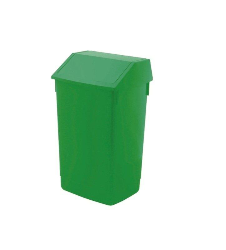 Image of Addis 60 Litre Fliptop Bin - Green AG813422