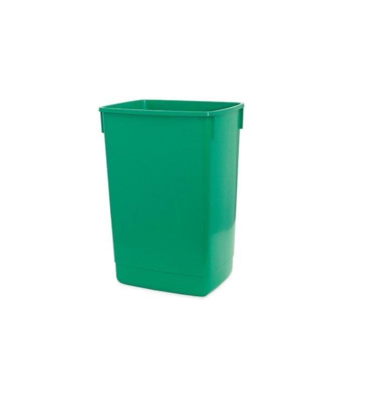 Image of Addis 60l Flip Top Recycle Bin Base- Green