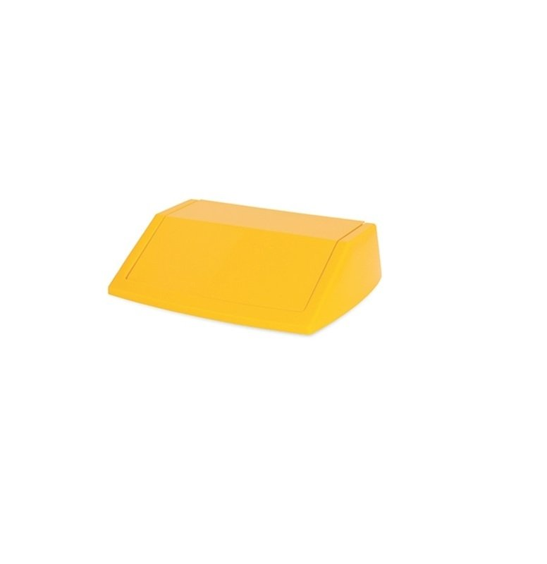 Image of Addis 60l Fliptop Bin Lid - Yellow