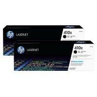 HP 410X High Yield Toner Cartridge - Black - Dual Pack