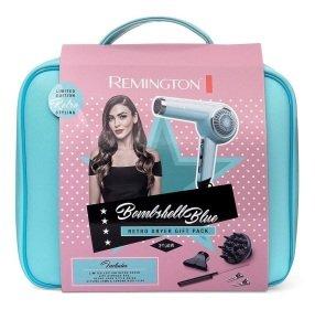 Remington Bombshell Blue Retro Dryer Pack- D4110OB
